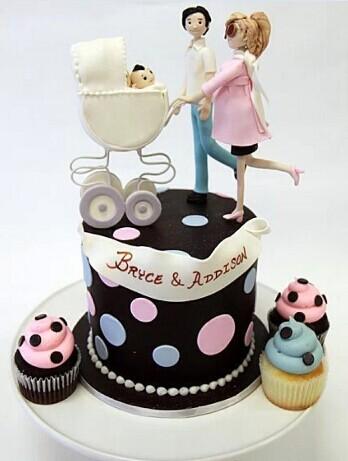 一家三口蛋糕