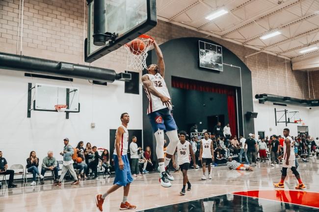 室内篮球比赛高清图