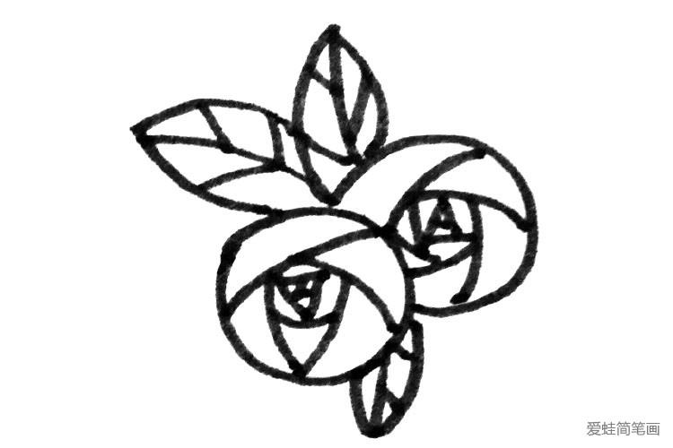 玫瑰花的多种画法