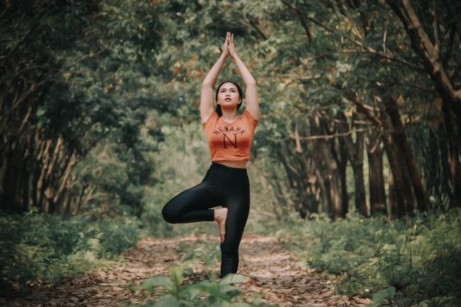 瑜伽经典体式图片
